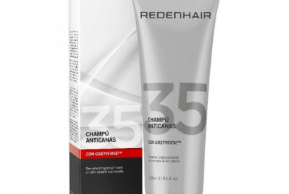 REDENHAIR ANTI-GREY SHAMPOO, STOP AND REVERSE THE CANAS TRAINING PROCESS